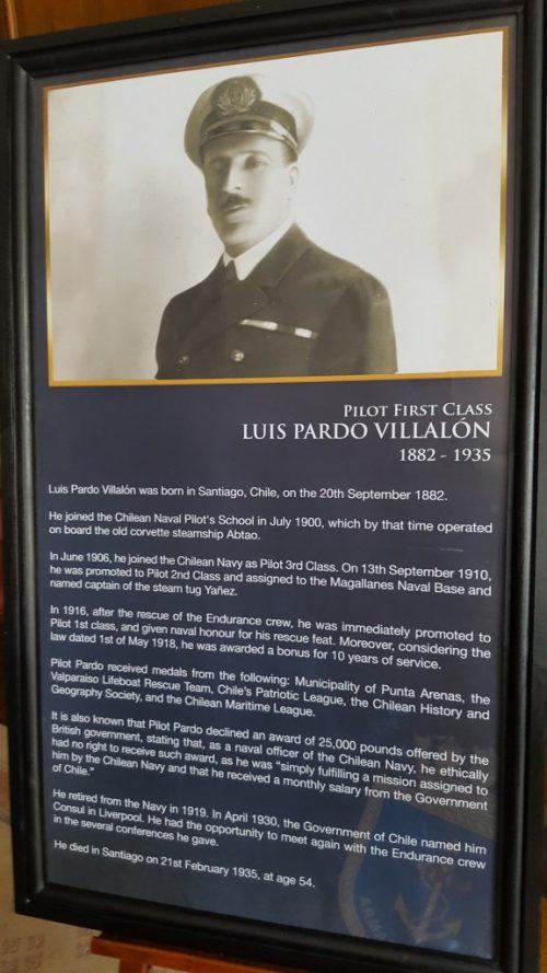 Luis Pardo Vallalon - Pilot First Class